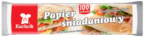 Papier śniadaniowy a'100