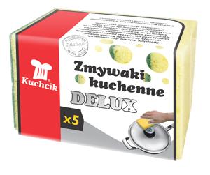 Губки maxi delux 5шт