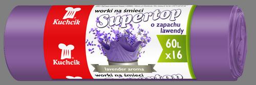 Worki Supertop 60L, 16 szt. (2884)
