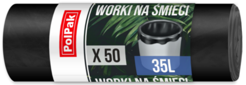 Worki HDPE 35L, 50 szt. (2712)