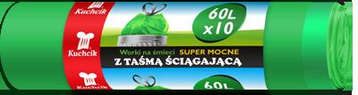 Мешок HDPE 60л/10шт